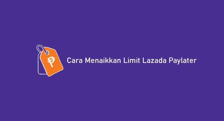 Cara Menaikkan Limit Lazada Paylater