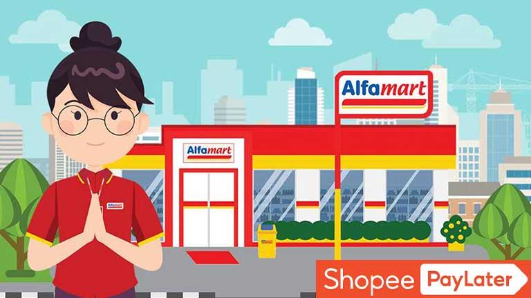 Cara Bayar Shopee Paylater Di Alfamart