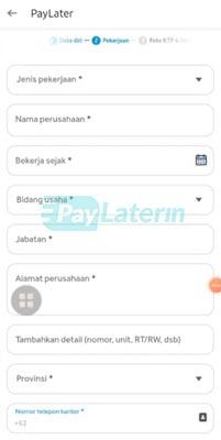 Daftar Paylater