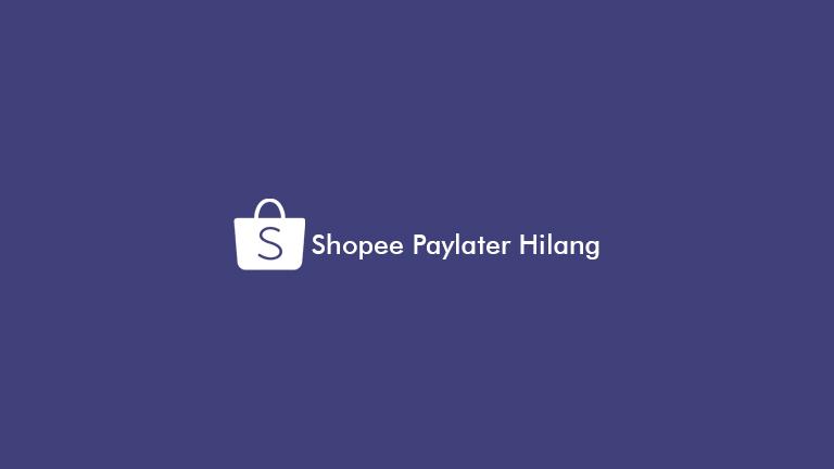 Shopee Paylater Hilang